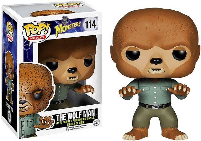Funko Pop Universal Monsters The Wolf Man #114