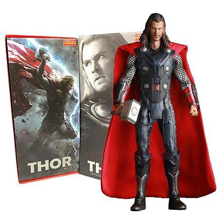 Estátua Thor Avengers Vingadores Crazy Toys 30cm