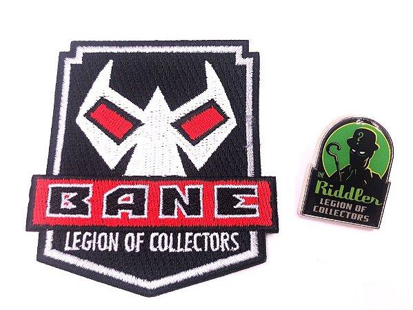 Pin e Patch Villains Dc Legion Of Collectors