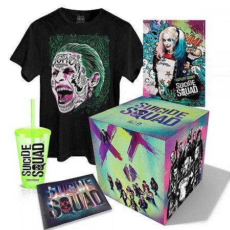 Gift Box Esquadrão Suicida DC