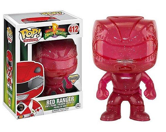 Funko Pop Power Rangers Red Ranger Morphing Exclusivo #413
