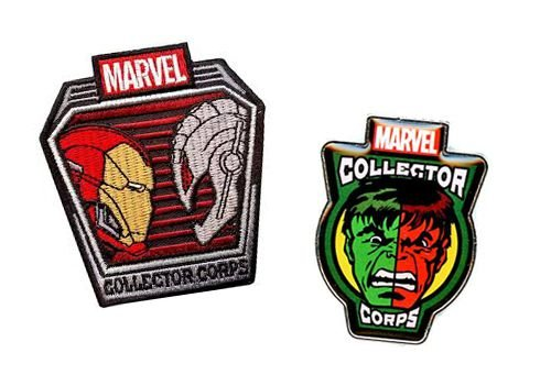 Pin + Patch Superhero Showdowns Marvel Collectors Corps