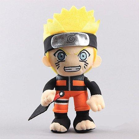 Pelúcia Naruto Shippuden - Naruto 20cm