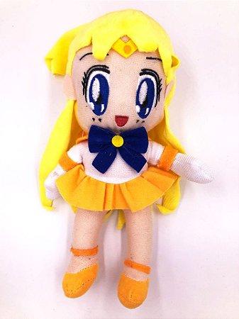 Pelúcia Sailor Moon - Sailor Venus Queen Serenity 18cm