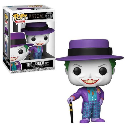 Funko Pop DC Batman Returns 1989 The Joker With Hat #337