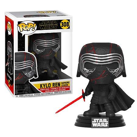 Funko Pop Star Wars Ryse of Skywalker Kylo Ren Supreme Leader #308