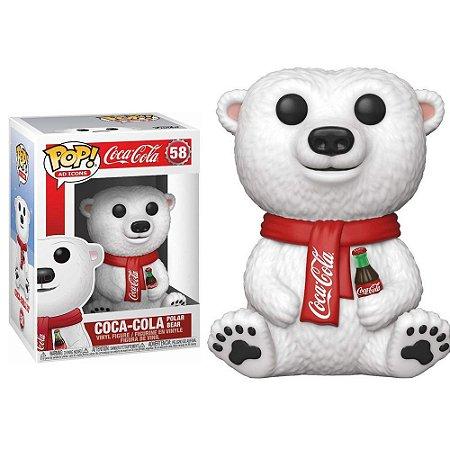 Funko Pop Coca Cola Urso Polar #616