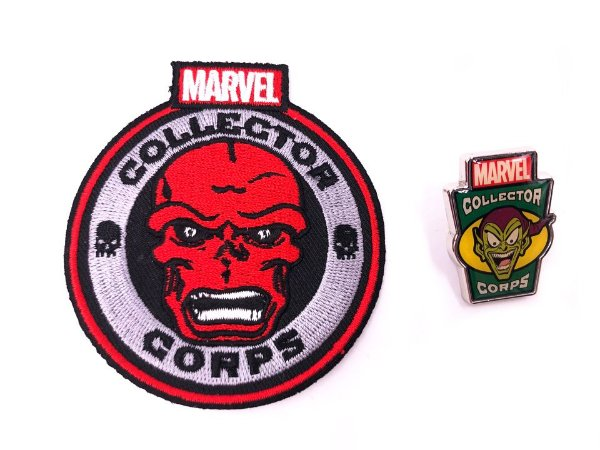 Pin e Patch Villains Marvel Collector Corps