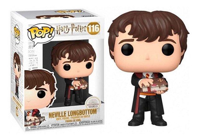 Funko Pop Harry Potter Neville longbottom With Monster Book #116