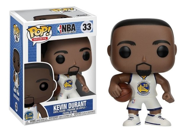 Funko Pop NBA Golden State Warriors Kevin Durant #33