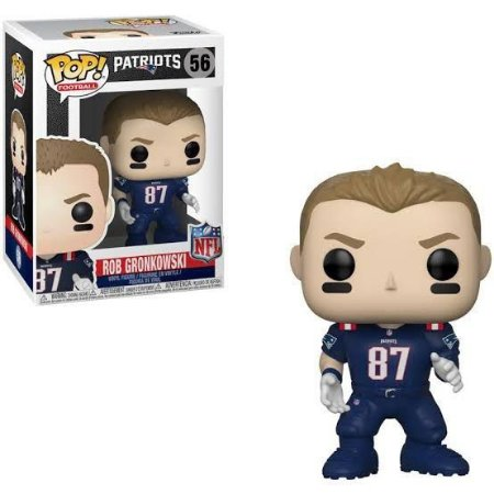 Funko Pop Nfl New England Patriots Rob Gronkowski #56