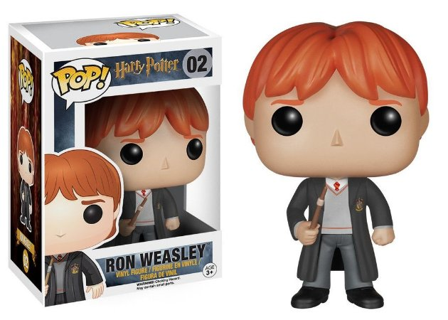 Funko Pop Harry Potter Ron Weasley #02