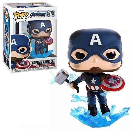 Funko Pop Marvel Avengers Endgame Capitão América #573