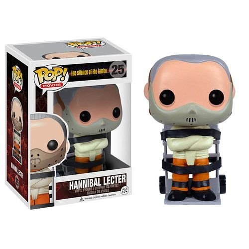 Funko Pop Hannibal Lecter Silencio dos Inocentes #25