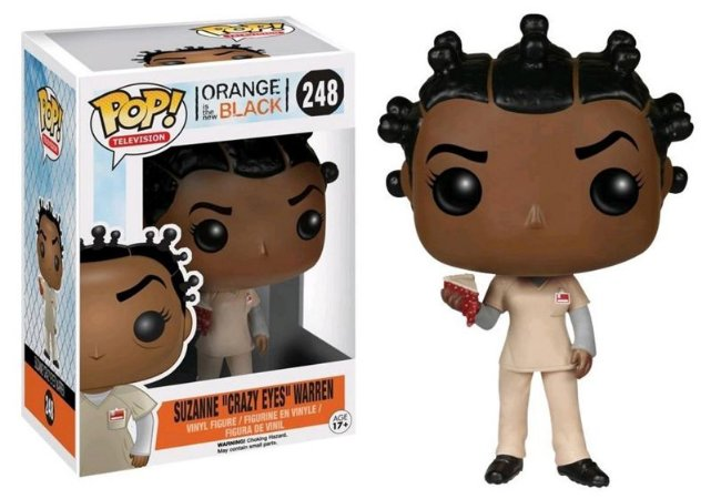 Funko Pop Orange The New Black Suzanne Crazy Eyes Exclusiva #248