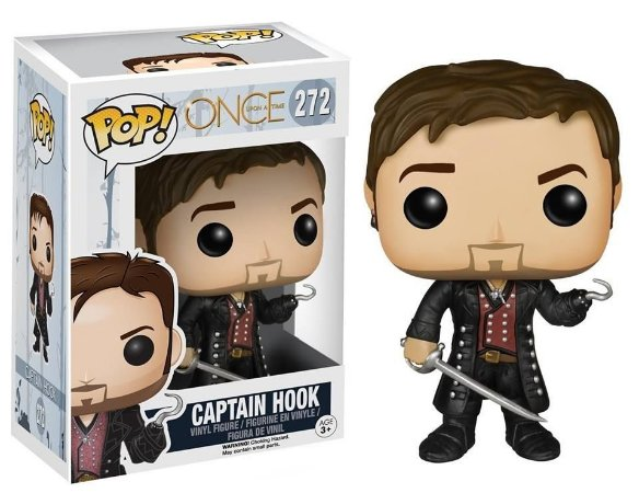 Funko Pop Once Upon A Time Captain Hook #272