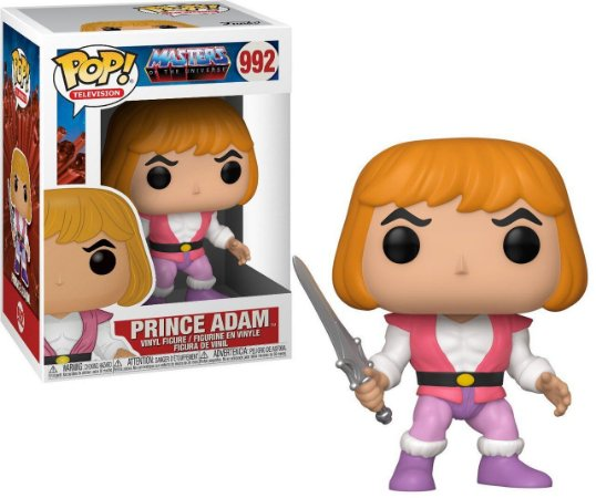 Funko Pop Masters of The Universe Prince Adam #992