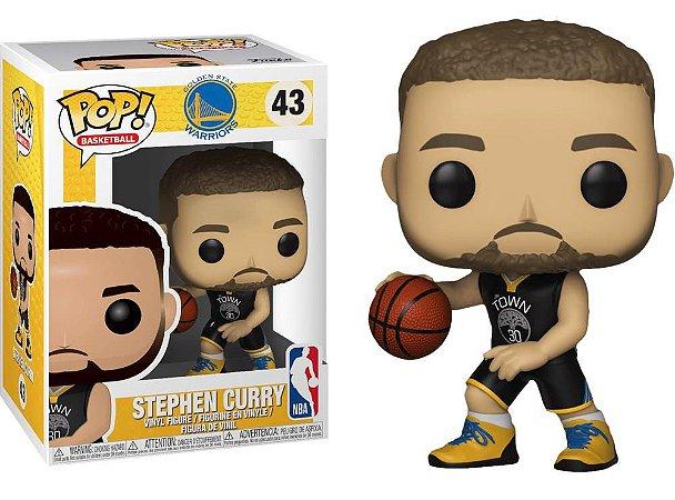 Funko Pop NBA Golden State Warriors Stephen Curry #43