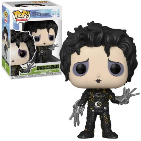 Funko Pop Edward Mãos de Tesoura Scissorhands #979
