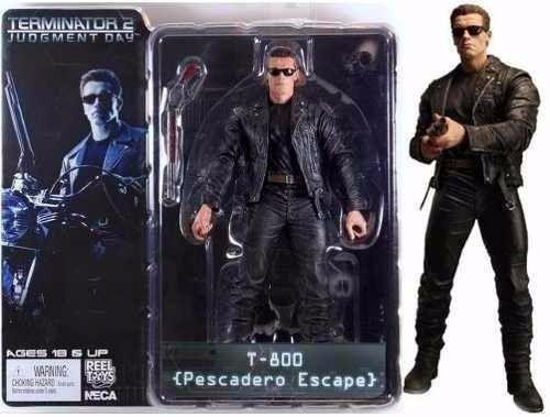 Action Figure Exterminador do Futuro Terminator T800 Pescadero Escape