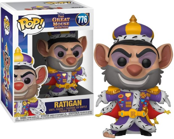 Funko Pop Disney The Great Mouse Detective - Ratigan #776