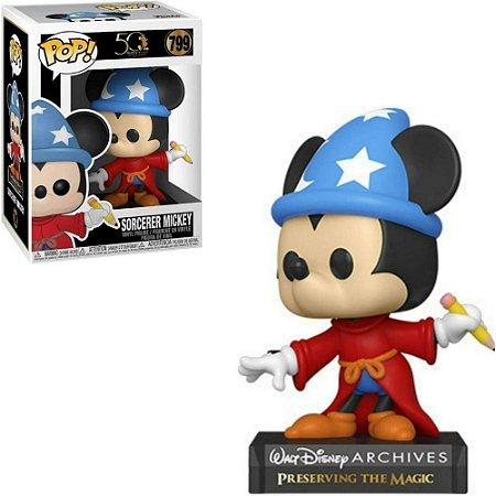 Funko Pop Disney Fantasia 50th Sorcerer Mickey #799
