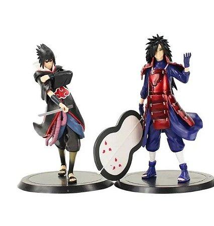 Kit 2 Action Figure Itachi + Madara Uchida - Naruto