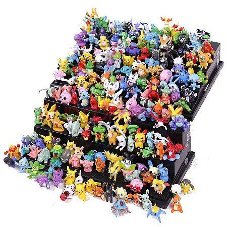 Kit 24 Miniaturas Pokemon 3,5cm