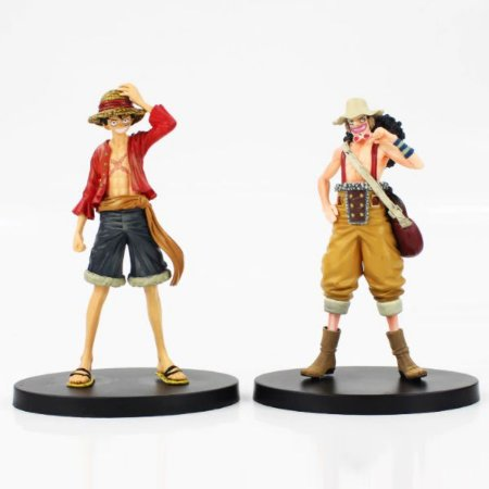 Action Figures One Piece - Luffy e Usopp