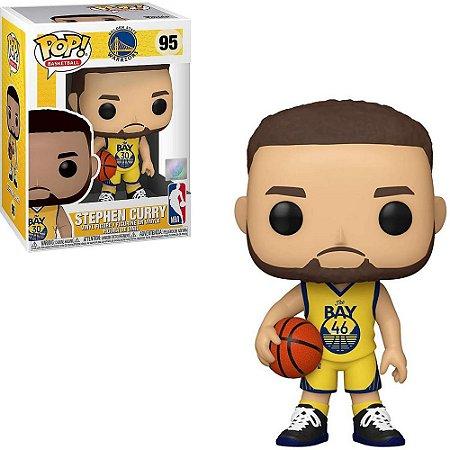 Funko Pop NBA Golden State Warriors Stephan Curry #95