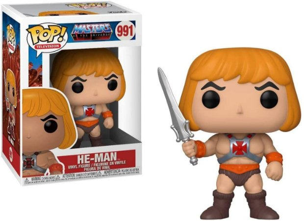 Funko Pop Masters of The Universe He-Man #991