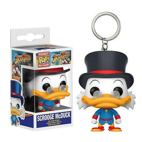 Chaveiro Pocket Pop Disney Tio Patinhas Scrooge McDuck