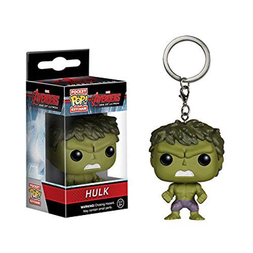 Chaveiro Pocket Pop Marvel Avengers Vingadores Hulk