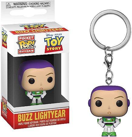 Chaveiro Pocket Pop Disney Toy Story Buzz Lightyear