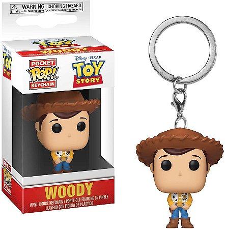 Chaveiro Pocket Pop Disney Toy Story Woody