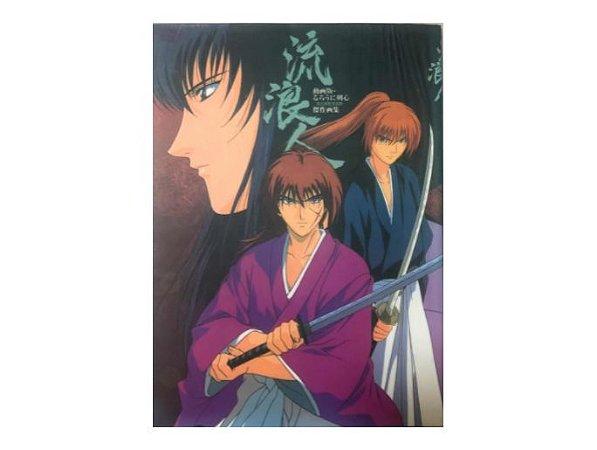 Livro Ruronin Dogaban Ruroni Kenshin Meiji Kenkaku Roman