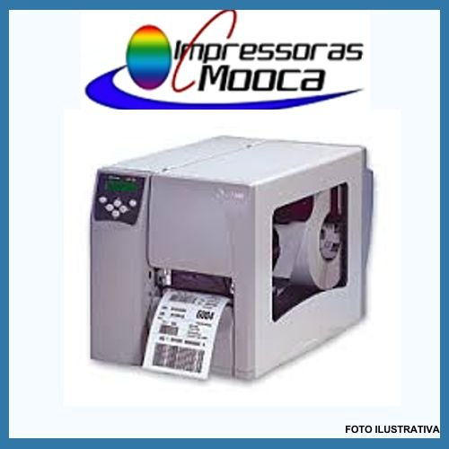 Impressora De Etiquetas Zebra S4m S 4 M