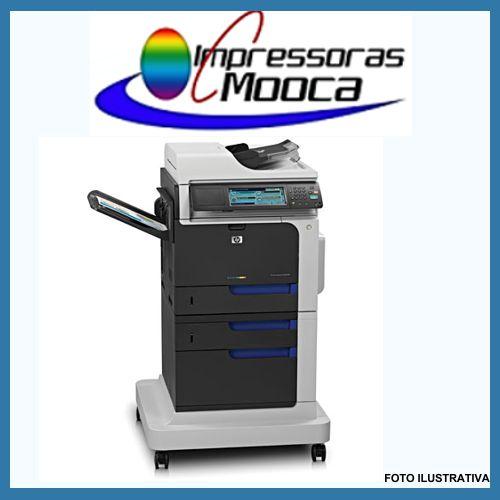 Impressora Multifuncional Laser Color Hp Cm4540 mfp Cm 4540