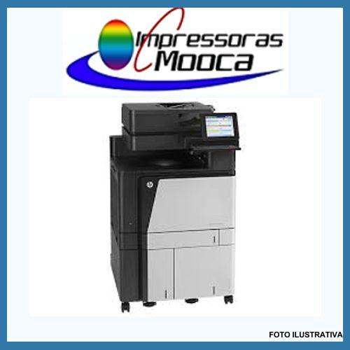 Impressora Multifuncional Hp Enterprise Flow Mfp M830 830