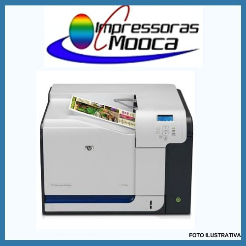 Impressora Laser Color Hp Cp3525dn 3525 220V
