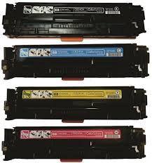 Toner HP CE250A/251/252/253  Kit 4 CORES