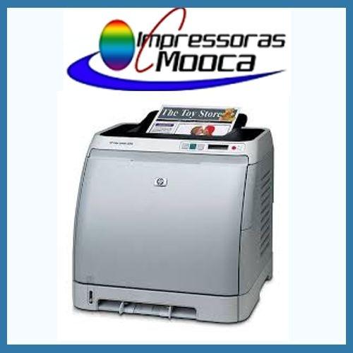 Impressora Laser Color Hp 2600n 2600 N SEM TONER