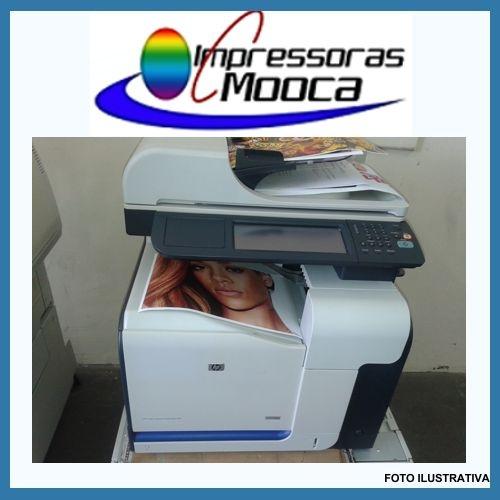 Impressora Multifuncional Laser Color Hp Cm3530fs Mfp 3530