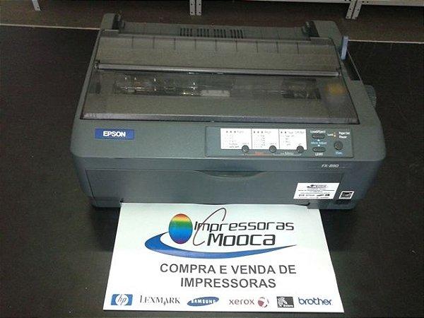 Impressora Matricial Epson Fx890 Preta Fx 890