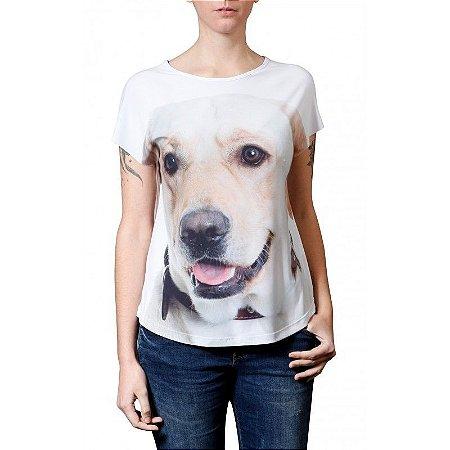 Camiseta Evasê LABRADOR MEL