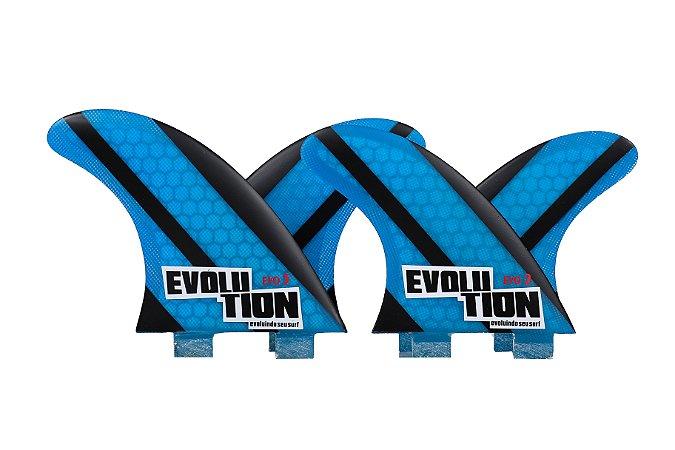 Quilha Modelo Evo Core Quadri - Tamanho Evo 5 / Evo 2 - Azul.