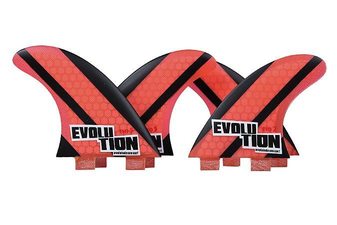 Quilha Modelo Evo Core Quadri - Tamanho Evo 5 / Evo 2 - VErmelho.