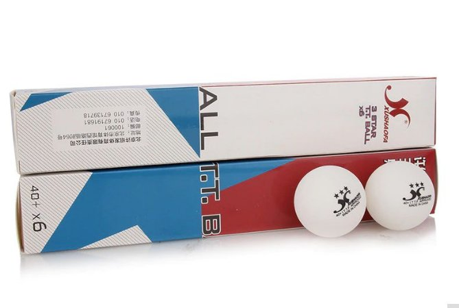 06 Bolas Tênis De Mesa / ping pong Xushaofa Profissional