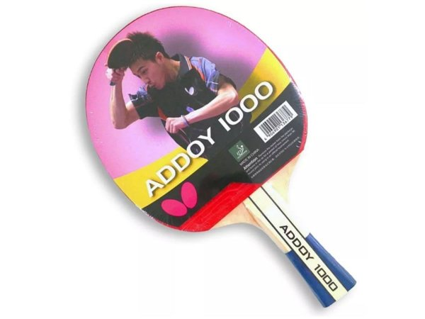3ce139e1a70 Raquete De Tênis De Mesa Butterfly Addoy 1000 Clássica - Loja Tenis ...