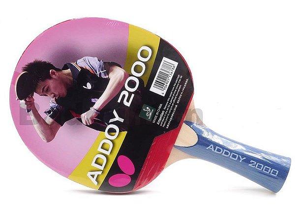 44e8104fb49 Raquete Butterfly Addoy 2000 Tênis de Mesa Profissional - Loja Tenis ...